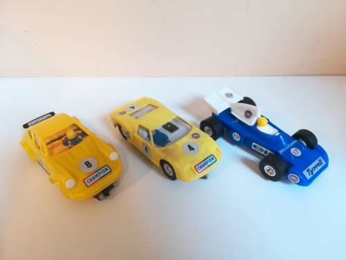 repase Ites Porsche 911, Tyrrell, Ford Gt
